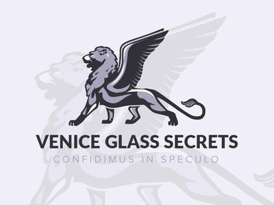 Logo Design 'Venice Glass Secrets' - Jewelry from Murano Glass