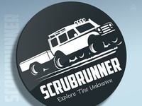 'SCRUBRUNNER' Logo Design