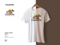Logos and T-shirts Design for Caravan Hire Business