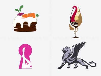 My Collection of Realistic Logos Design venice graphic design adult logo cake logo wine logo lion logo logo maker logo designer logotypedesign logo design realistic logo realistic