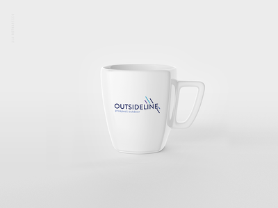 Logo and other Branding Identity 'OutsideLine' modern logo simple logo colorful logo visit card design logo designer mug design tshirt design logotypedesign outside line logo logo design