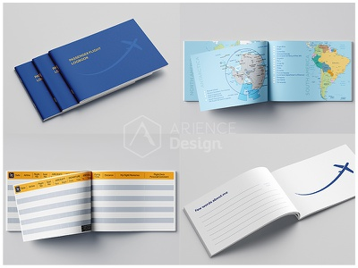 Passenger Flight Log Book Design ✈️✔️👨‍👩‍👧‍👦 bluecover ceckfly flightlogbook