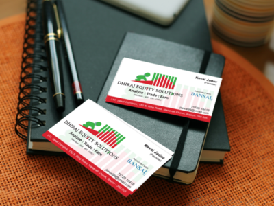Dhiraj Equity Solutions Visiting Card visitingcard divyagraphics