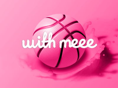 Dribbble with meee...