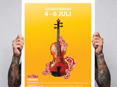 Poster gul