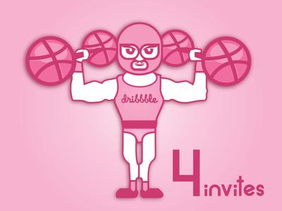 Dribbble invites 4