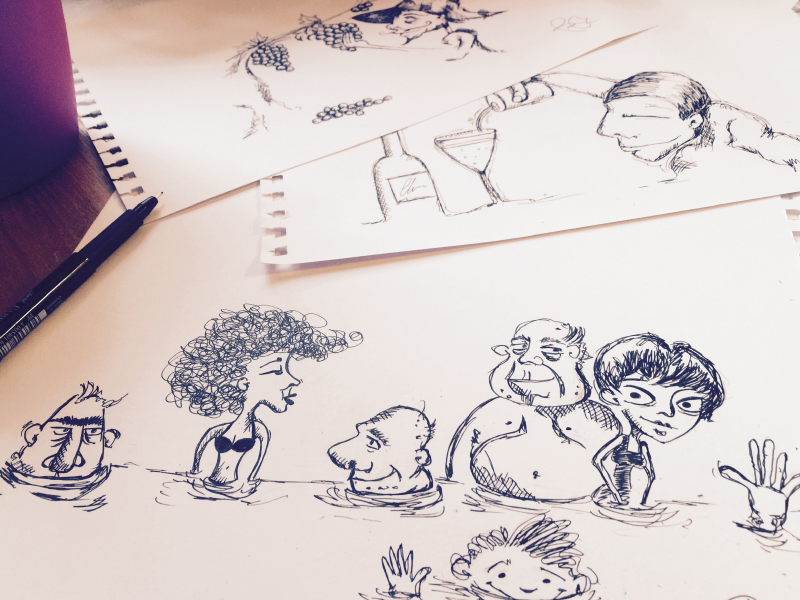 Illustration schetch illustration