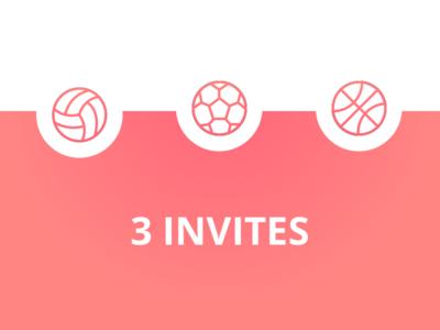 3 Dribbble invites free away give basket dribbble invites invite