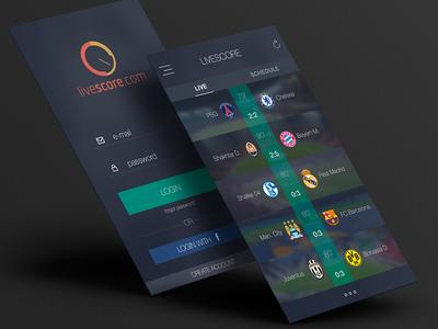 Livescore Redesign
