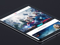 Sky.it Tablet view