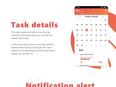 Doli - Schedule Management App branding logo website web app ux ui design