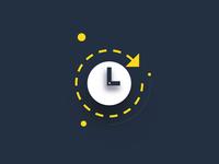 Delivery estimation icon icon