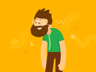 Character design smooozy illustration design character