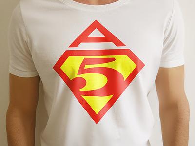 Super print print t-shirt superman