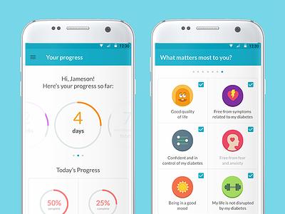 Sense360 App healthcare diabet mobile app