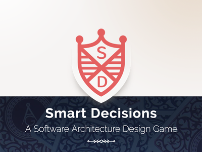 Smart Decisions landing page software architecture website game