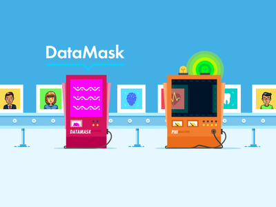 Data Mask Conveyor conveyor illustration smooozy datamask