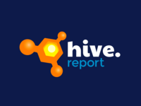 Hive Report logo design