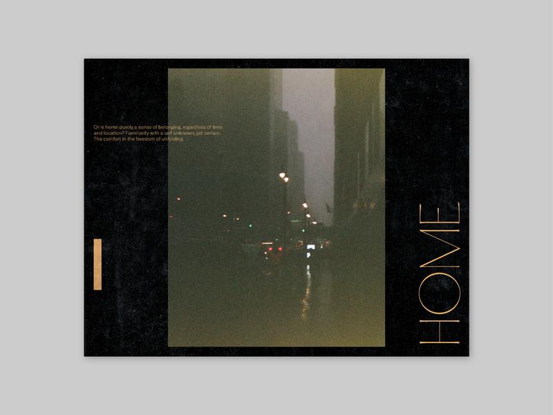 HOME / NYC photography typography poster pangrampangram layoutdesign layout film photography design