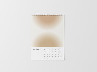 Luv(sic) Part 4 Calendar — November digital art poster song lyrics mockup illustrator photoshop print design prints gradients nujabes calendar graphicdesign graphics abstract print layout typography design