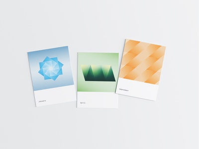 Luv(sic) Part 4 song lyrics digital art colors nujabes months postcards mockup shapes abstract gradients graphicdesign graphics ilustrator illustration photoshop poster print layout typography design
