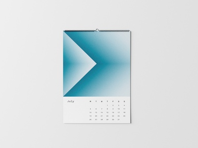 Luv(sic) Part 4 — July digital art song lyrics nujabes print design colors shapes abstract gradients calendar illustrator illustration mockup graphicdesign photoshop poster layoutdesign print layout design
