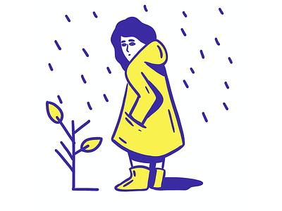 Rainning britanny ciret coat winter rain