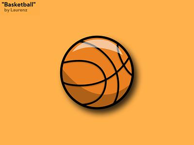 """""""Basketball"""" Vector Illustration vectorart illustration vector art vector illustration vector illustrator"""