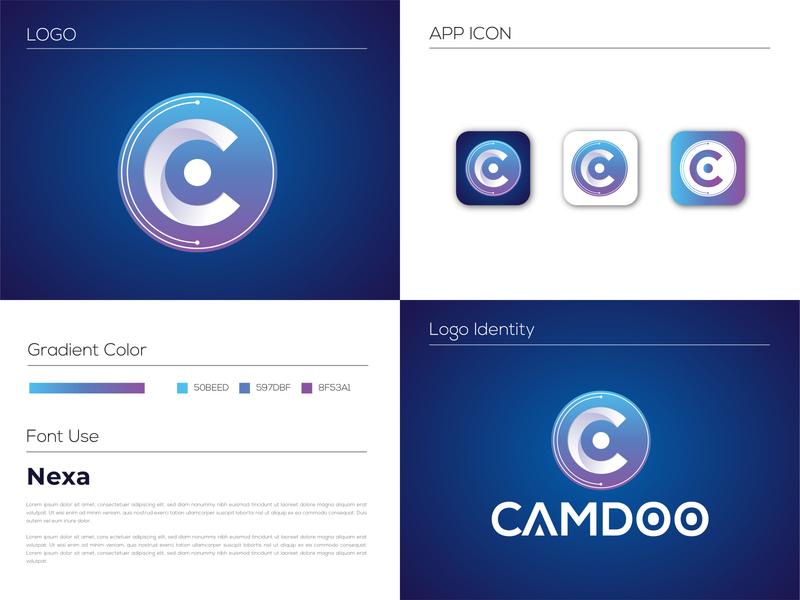 C letter Logo modern logo mobile app creative logo abstract company business app typography minimal logos logo design logo branding