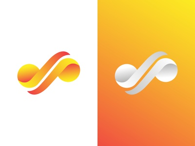 Infinity Logo ui graphic design logo business infinity logo gradient logo colorful logo software logo app logo illustration abstract logo modern logo branding brand identity logo design logo