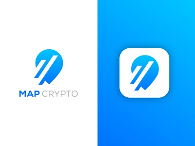 Map crypto logo colorful logo ui gradient minimalist logo vector gradient logo illustration graphicdesign map crypto logo location logo map logo graphic design app logo modern logo brand identity branding logo design logo