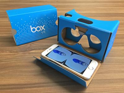 Box VR x Google Cardboard boxworks iphone 3d reality virtual virtual reality vr cardboard google box