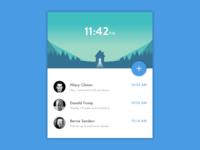 Inbox Widget