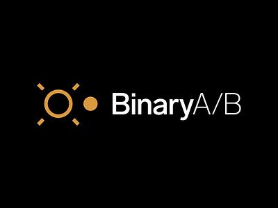 Binary A/B Brand branding design brand branding