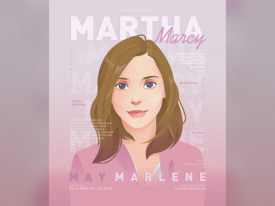 Martha Marcy May Marlene Poster poster movie portrait