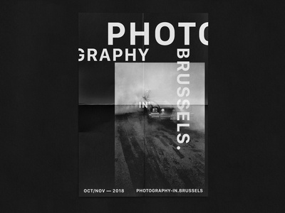 PHOTOGRAPHY IN BRUSSELS — POSTERS BLACK