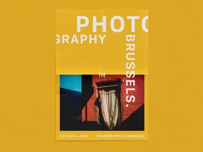 PHOTOGRAPHY IN BRUSSELS — POSTERS YELLOW
