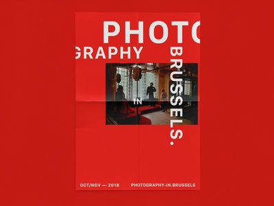 PHOTOGRAPHY IN BRUSSELS — POSTERS RED