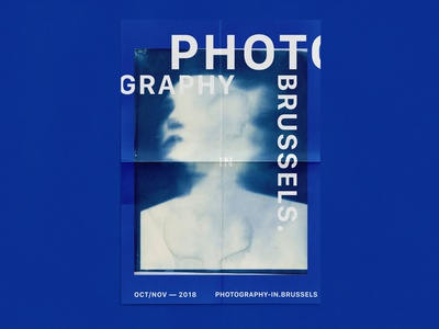 PHOTOGRAPHY IN BRUSSELS — POSTERS BLUE