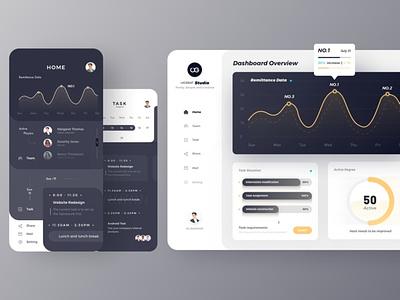 App Panel minimal branding flat vector website webdesign ux ui