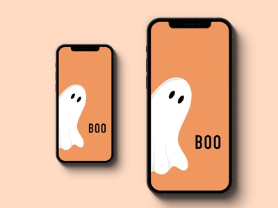 Weekly Prompt - Something Spooky graphic design iphone mockup procreate design illustration