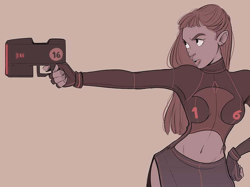 2016 gun design character