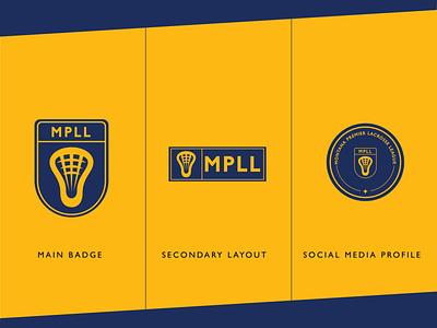Rebrand - Montana Premier Lacrosse League minimal design league sports lacrosse logo rebrand brand