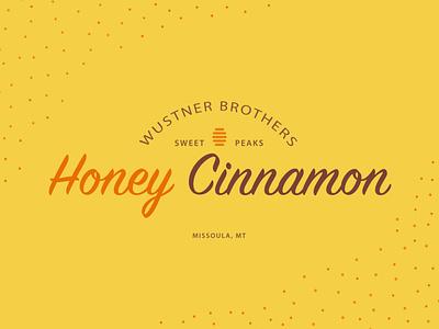 Honey Cinnamon - Weekly Warmup weeklywarmup adobe illustrator vector packaging brand logo minimal design