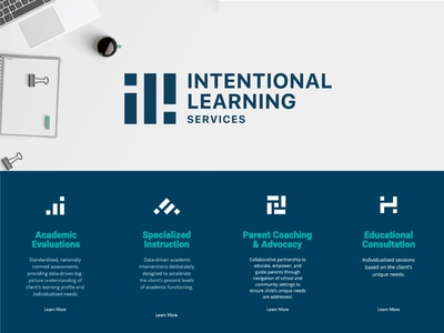 ILS - Brand Identity vector adobe illustrator brand design minimal branding logo graphic design