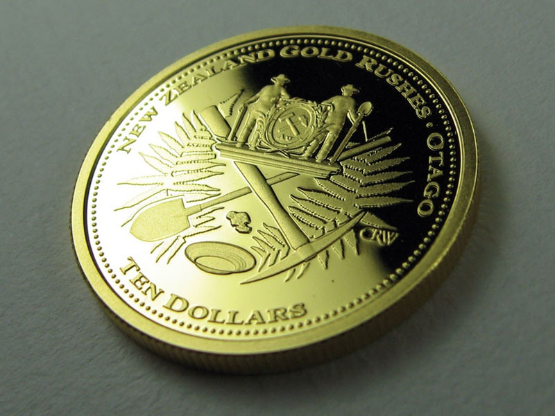 NZ Mint Gold Coin coin money gold new zealand currancy