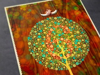 Colourblind Art Print