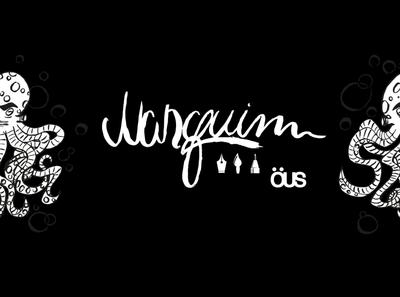 Ous Nanquim lettering art branding design illustration
