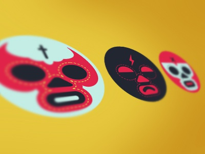 Luchador icons icon luchador wrestle simple workerman