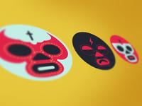 Luchador icons